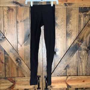 Beyond yoga black textured leggings size XS!